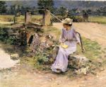 theodore robinson famous paintings - la debacle by theodore robinson