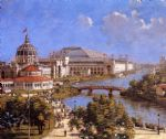 theodore robinson famous paintings - world s columbian exposition by theodore robinson