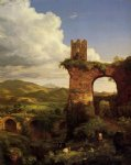 thomas cole art - arch of nero by thomas cole
