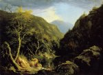 thomas cole art - autumn in the catskills by thomas cole