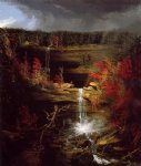 canvas prints - falls of kaaterskill by thomas cole