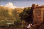 thomas cole original paintings - il pensaro by thomas cole