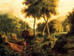 thomas cole landscape ii painting-24719