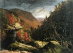 love art - the clove catskills by thomas cole