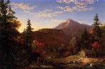thomas cole original paintings - the hunter s return by thomas cole