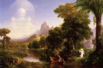 handmade art - the voyage of life youth ii by thomas cole