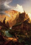 thomas cole valley of the vaucluse painting