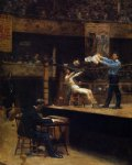 thomas eakins between rounds painting
