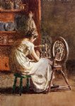 thomas eakins homespun painting