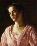 thomas eakins portrait of maud cook painting-24638