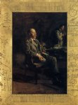 thomas eakins portrait of professor henry a. rowland painting-24643