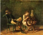 thomas eakins the courtship painting