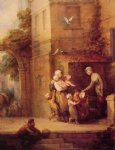thomas gainsborough charity relieving distress painting