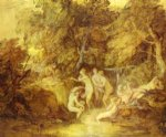 thomas gainsborough diana and actaeon painting