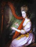 thomas gainsborough louisa lady clarges painting 24509