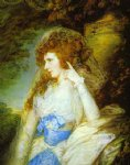 mary lady bate by thomas gainsborough painting