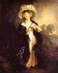 thomas gainsborough miss haverfield painting