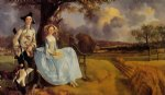 thomas gainsborough mr and mrs andrews painting