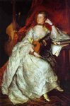 thomas gainsborough watercolor paintings - mrs. philip thicknesse nee anne ford by thomas gainsborough