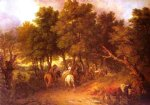 thomas gainsborough pesants returning from market painting