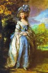 thomas gainsborough sophia charlotte lady sheffield painting