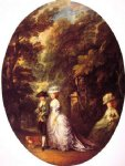 thomas gainsborough the duke and duchess of cumberland painting 24561