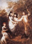 children art - the marsham children by thomas gainsborough