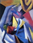 thomas hart benton acrylic paintings - constructivist still life by thomas hart benton