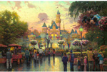 thomas kinkade Disneyland 50th Anniversary art
