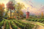 thomas kinkade abundant harvest paintings