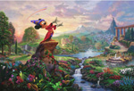 thomas kinkade disney Fantasia art