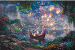 thomas kinkade disney Tangled art
