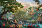 thomas kinkade disney The Jungle Book art