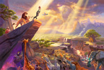 thomas kinkade disney The Lion King art