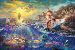 thomas kinkade disney The Little Mermaid art