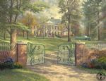 graceland by thomas kinkade painting