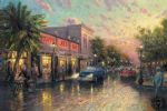 key west by thomas kinkade painting