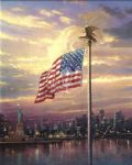 light of freedom by thomas kinkade painting