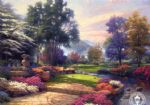 living watercolor paintings - living waters by thomas kinkade