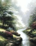 thomas kinkade petals of hope oil paintings