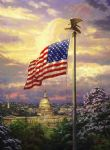 the light of freedom by thomas kinkade painting