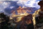 nature art - a miracle of nature by thomas moran