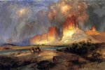 thomas moran cliffs of the upper colorado river painting 24287