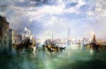 thomas moran entrance to the grand canal venice paintings