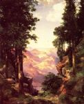thomas moran grand canyon 12 painting
