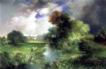 thomas moran june east hampton painting