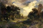 thomas moran long island landscape painting 24329