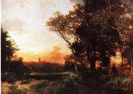 thomas moran mexico painting