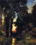 thomas moran mission in old mexico painting