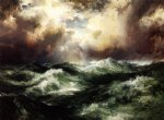 thomas moran moonlit seascape painting 24341